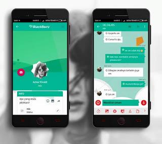 BBM Mod Mi Teal V3.3.0.16 Apk