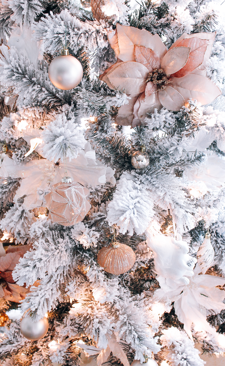 Blush/Rose Gold Christmas Tree