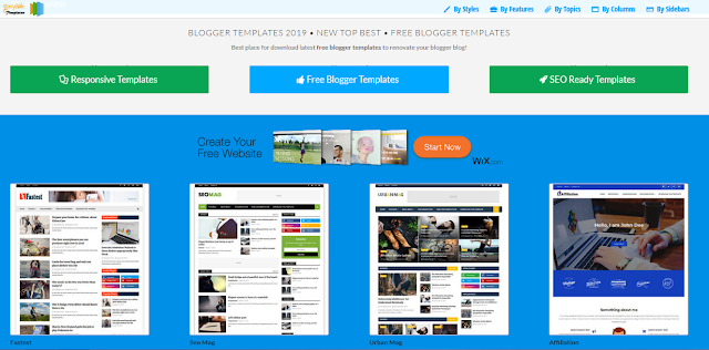 Most popular and Professional, Most Beautiful and High-Quality Blogger Templates