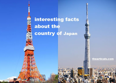 जापान देश के बारे में  25 रोचक तथ्य | 25 interesting facts about the country of Japan
