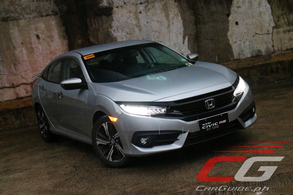 review  honda civic rs turbo philippine car news car reviews automotive features