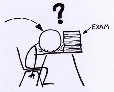 ~记忆~: Exam mood=blur-ing