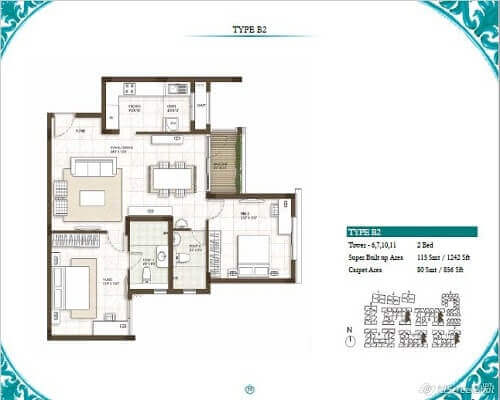 Prestige Courtyards Floor Plans
