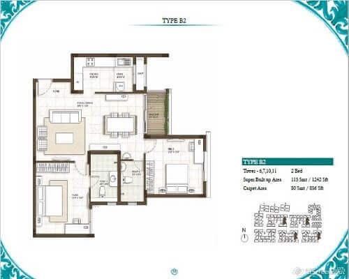 Prestige Courtyards Floor Plans