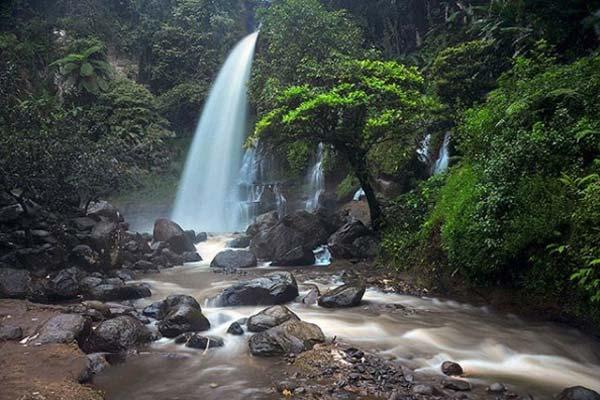 Wisata Bandung Ciwidey Curug Cipanji