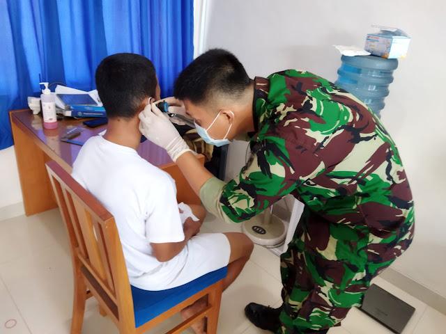 PK TNI AU Laksanakan Tes Kesehatan Tahap Pertama Terhadap 34 Calon Siswa Tamtama