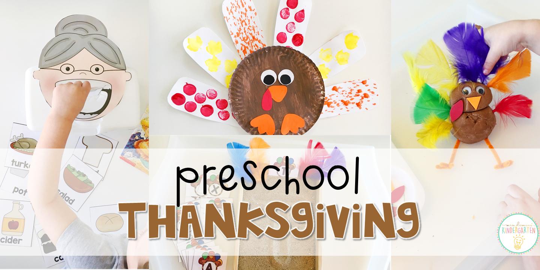 preschool thanksgiving mrs plemons kindergarten