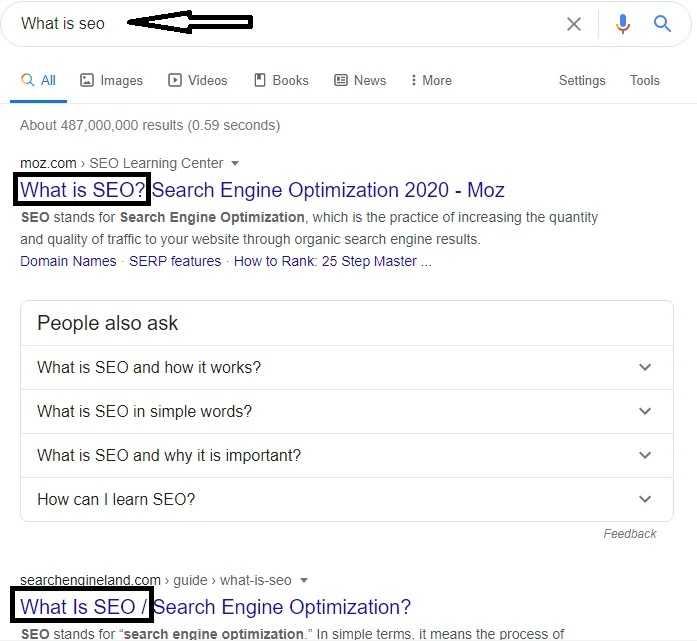 What is SEO On-page SEO?