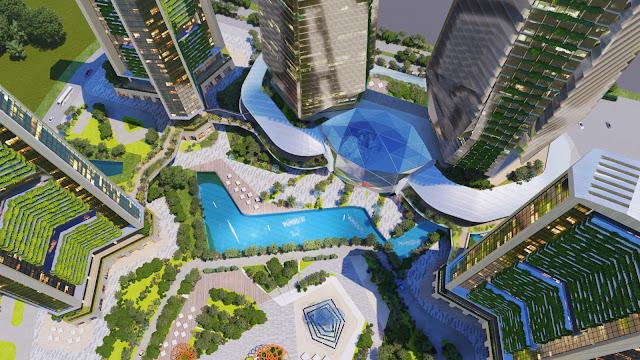 """Dự án Sunshine Empire Ciputra Hà Nội """"Rừng trong phố"""" Kiệt tác kiến trúc thiên nhiên từ tinh hoa nước Ý"""