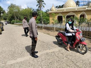 Untuk Memutus Mata Rantai Penyebaran Virus Covid 19 di Tengah Masyarakat, Personel Polsek Malua Gencar Laksanakan Operasi Yustisi