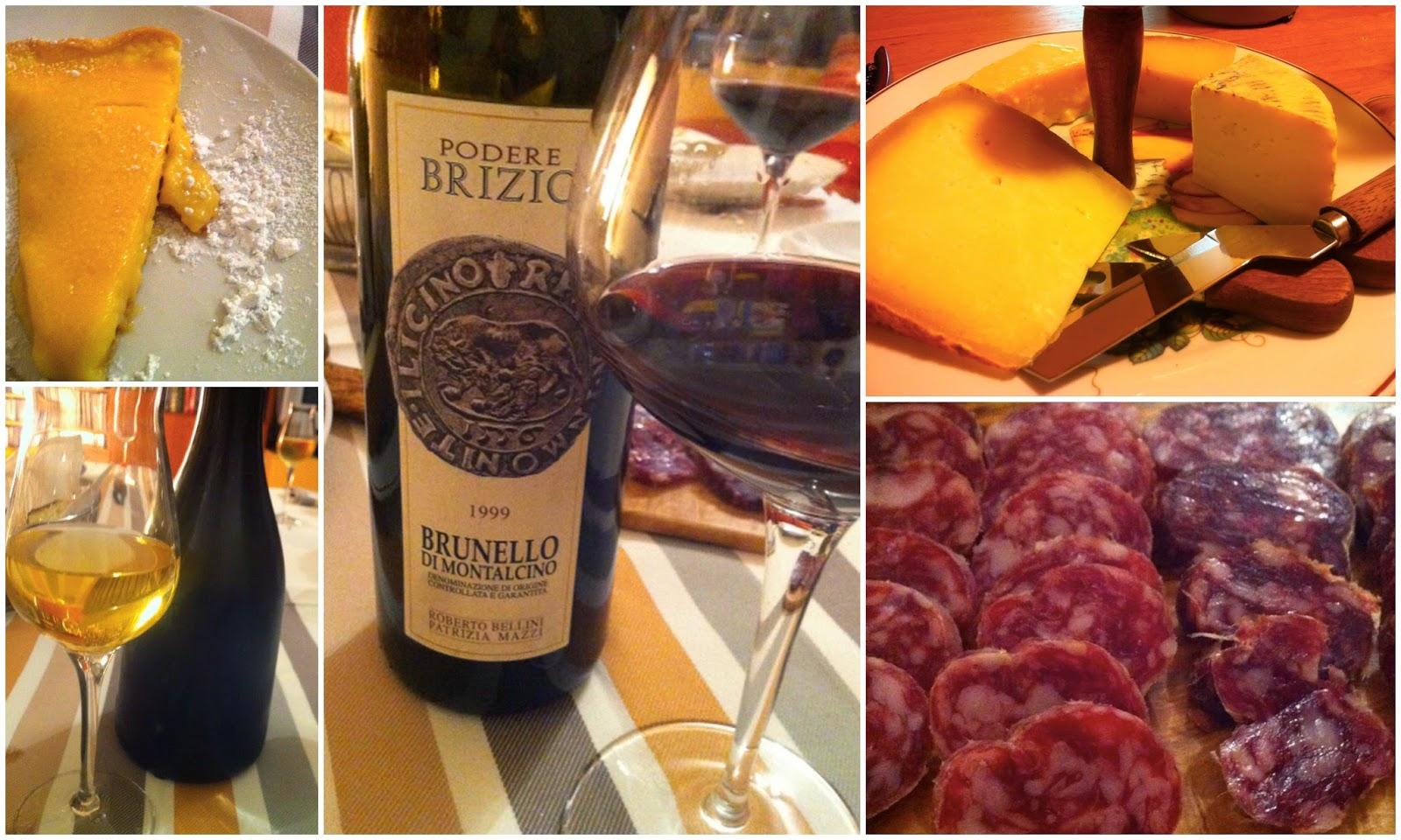 итальянские сыры, итальянские колбасы с красным вином, вино фраголино