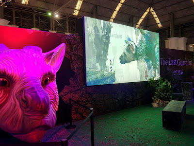 El stand de The Last Guardian