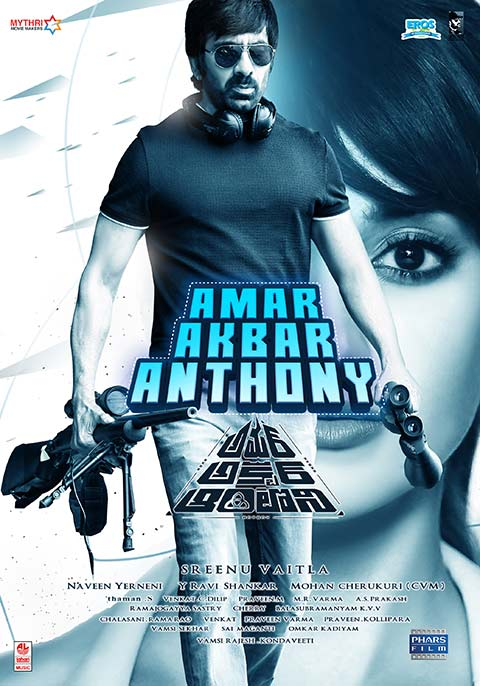 Amar Akbhar Anthoni (Amar Akbar Anthony) 2019 Hindi Dubbed 720p HDRip x264 800MB Download