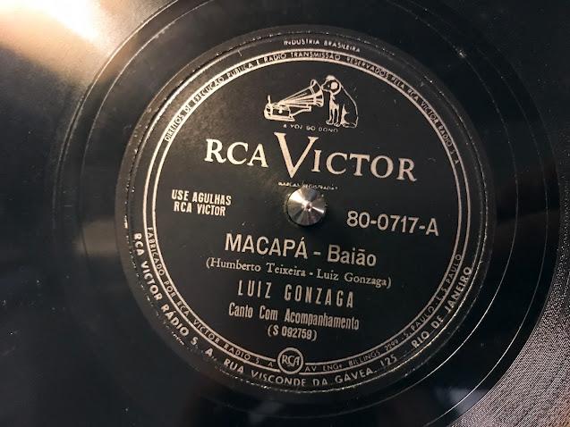 Luiz Gonzaga - Macapá (baião) from RCA Victor 78rpm (1950)
