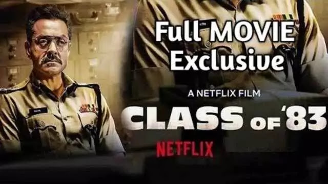 Class of 83 full movie