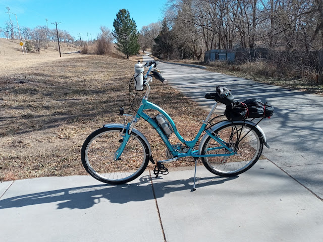 """My """"new to me"""" Electra Townie 21d, set up for riding!"""