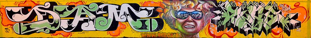 Graffitis Dam , Berok y Supe