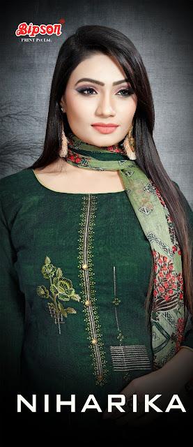 Bipson Niharika Pashmina Winter Salwar Kameez Collection