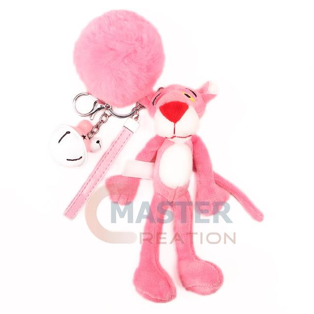 pink plush lion