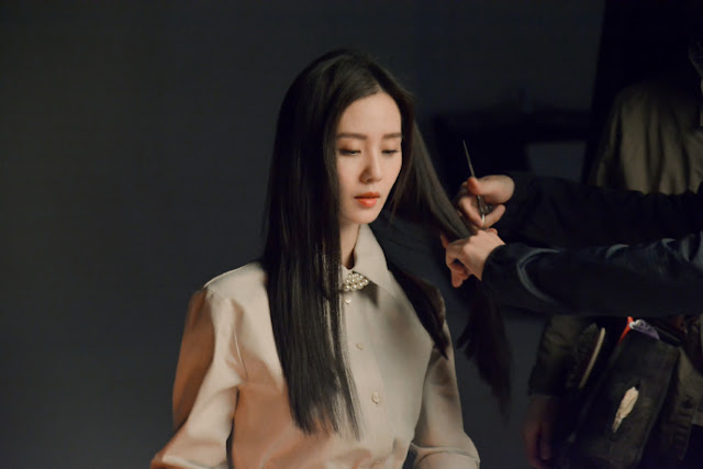 cecilia liu long black hair