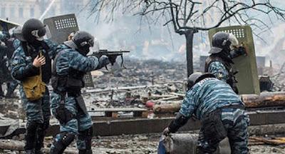 Суд випустив з-під арешту бійців Беркуту, що брали участь у розстрілі Майдану