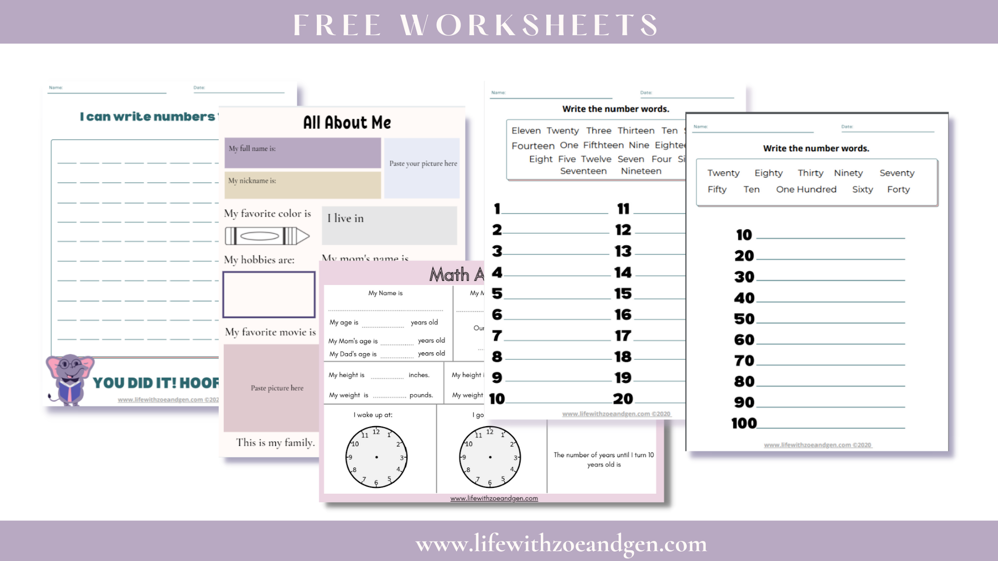 How our first week of homeschooling went by and free worksheets for Grade 1. Download now! l Life with ZG l Homeschooling PH l Chosen education