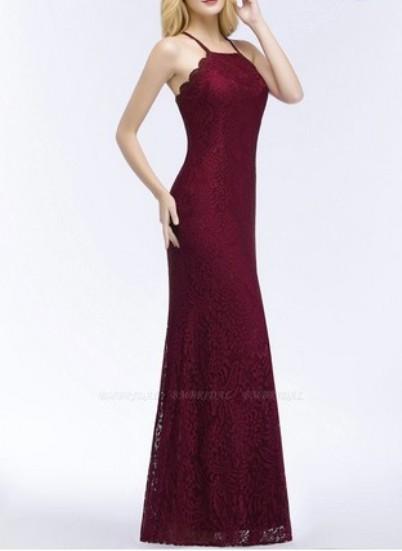Mermaid Lace Bridesmaid Dress – Price: US$ 99.00
