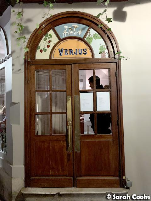 Verjus, Paris