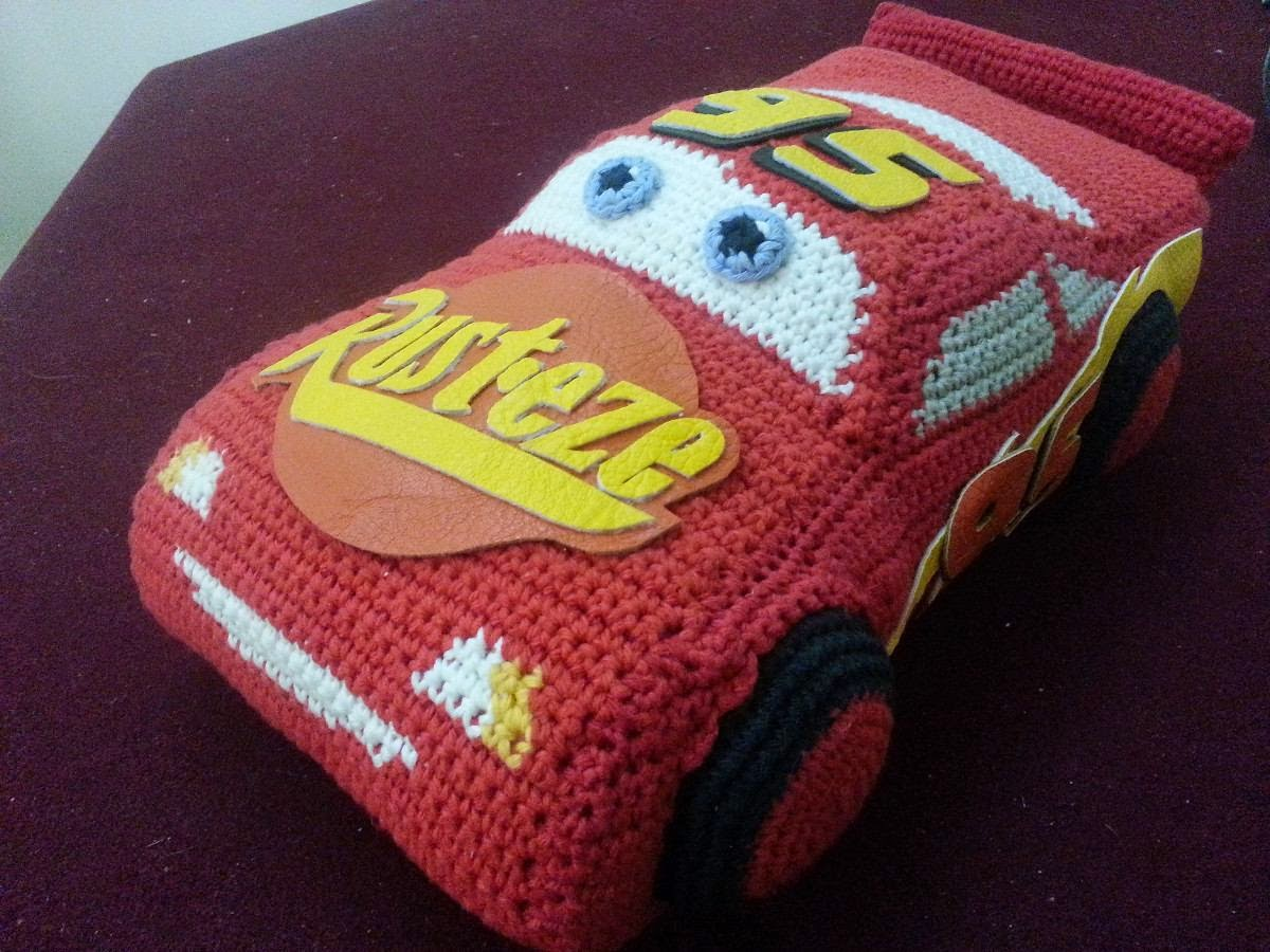 autos grandes tejidos al crochet cars rayo mcqueen - Mercado Libre Argentina b92e8d556bc