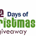 12 Days of Christmas Giveaway #12daysdc