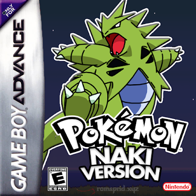 Pokemon Naki Version GBA ROM Hack Download