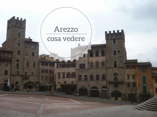 10 cose da vedere ad Arezzo in un giorno. Piazza grande