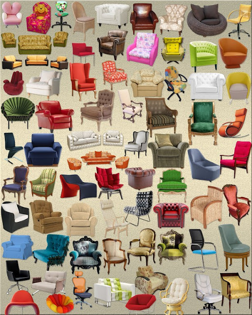 sofa and chair clipart png collection