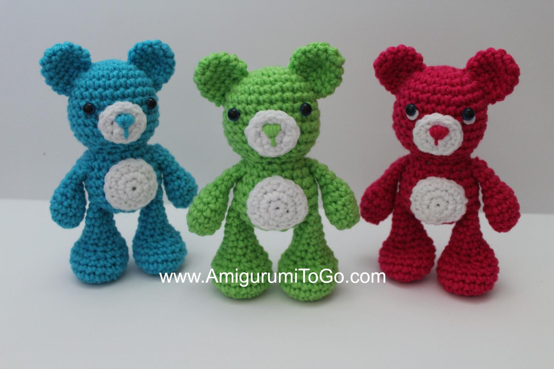 Amigurumi Freely Bear : The OG LBF Bear ~ Amigurumi To Go
