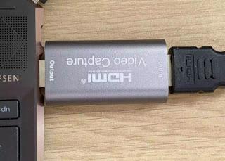 Menggunakan Kamera sebagai Webcam Dengan HDMI 3