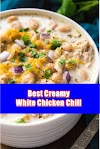 #Creamy #White #Chicken #Chili