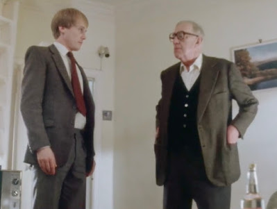 Stephen Riddle,Sir Alec Guinness,Smiley's People