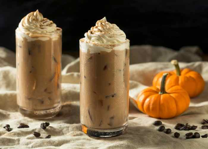 Pumpkin Spice Iced Latte Recipe