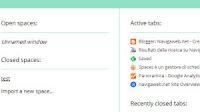 Organizzare schede in gruppi in Chrome