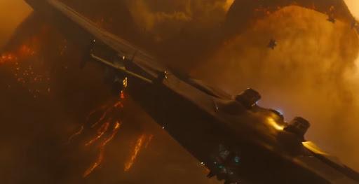 Godzilla 2: Canavarlar Kralı bilim kurgu canavarı film..