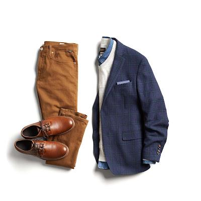 Qual cor de calça combina com sapatos marrons?