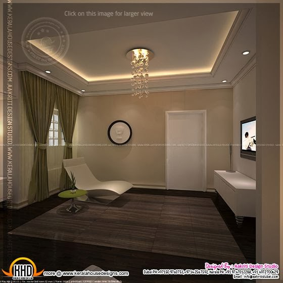 Kerala Home Front Elevation Pictures : Master bedroom and bathroom interior design kerala home