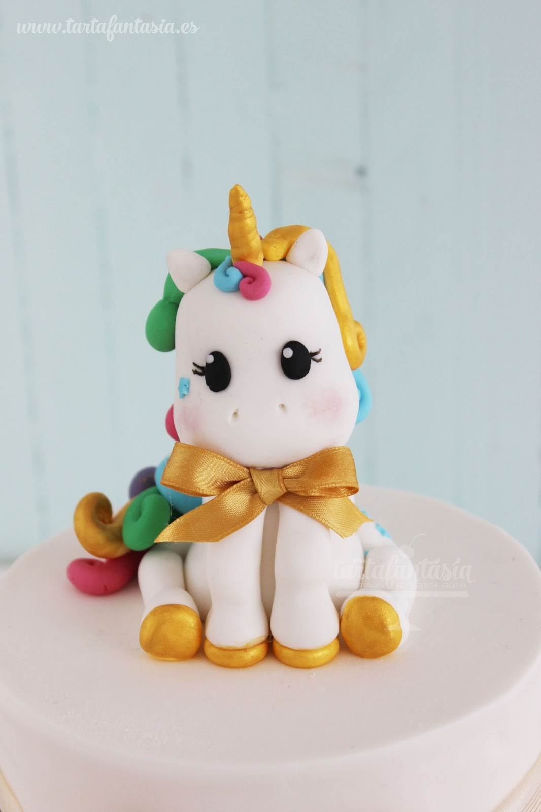 Unicornio De Fondant TartaFantasa