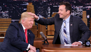 HUFF POST:  People Are Justifiably Infuriated With How Jimmy Fallon Handled Trump