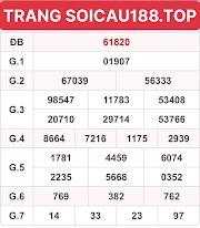 XEM CẦU BẠCH THỦ LÔ 14 - KQ XSMB DÀN ĐỀ CHUẨN HÔM NAY - SOICAU188.TOP