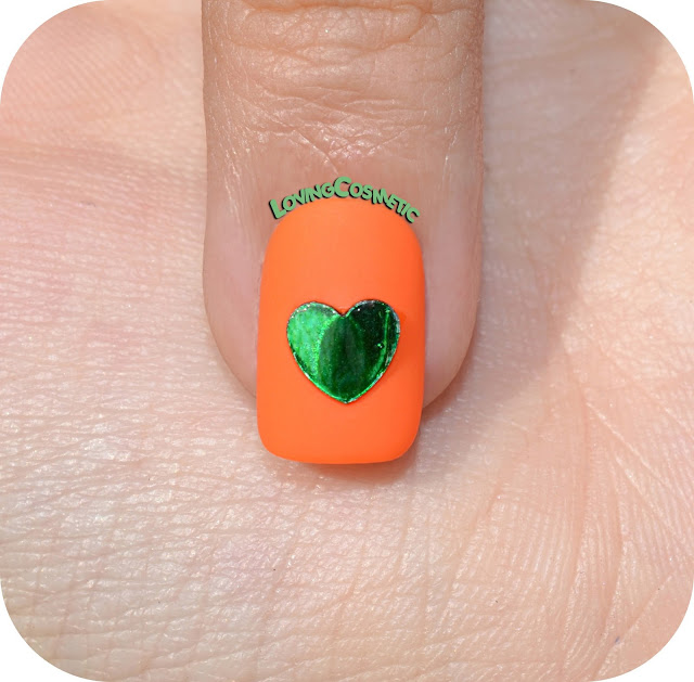 nailart nails nail uñas manicura kawaii kawai love you elyt entrelazosytelas  corazon verde