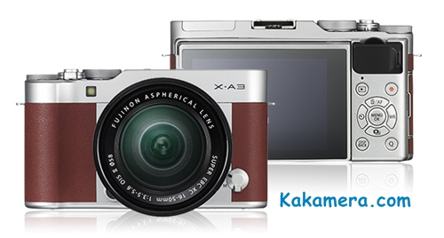 Harga Kamera Fujifilm X-A3