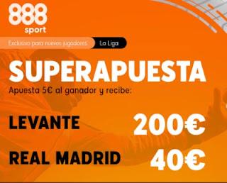 888sport superapuesta Levante vs Real Madrid 4-10-2020
