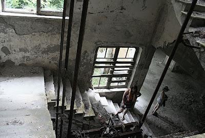 Hotel Miramonti Garessio staircase