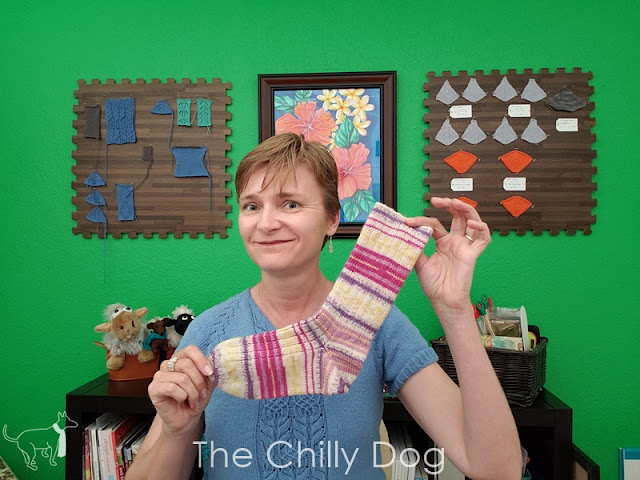 Line Drawing Socks KAL with The Chilly Dog, hosted by Makers' Mercantile - Knitting Begins May 9, 2019